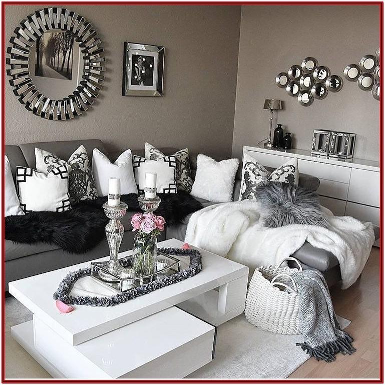 Gray And White Living Room Decor Ideas