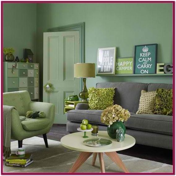 Green Paint Green Living Room Colour Ideas