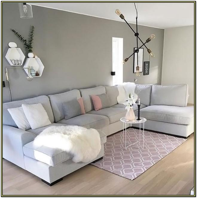 Grey And Blush Pink Living Room Ideas