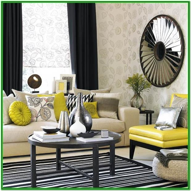 Grey And Mustard Living Room Decor