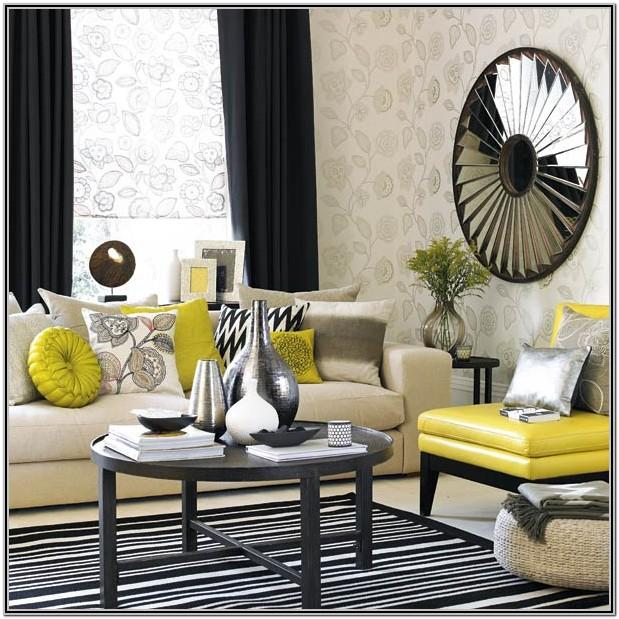 Grey And Mustard Living Room Designs