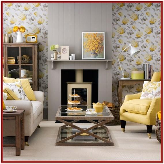 Grey And Yellow Living Room Decorating Ideas