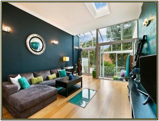 Grey Brown And Teal Living Room Ideas