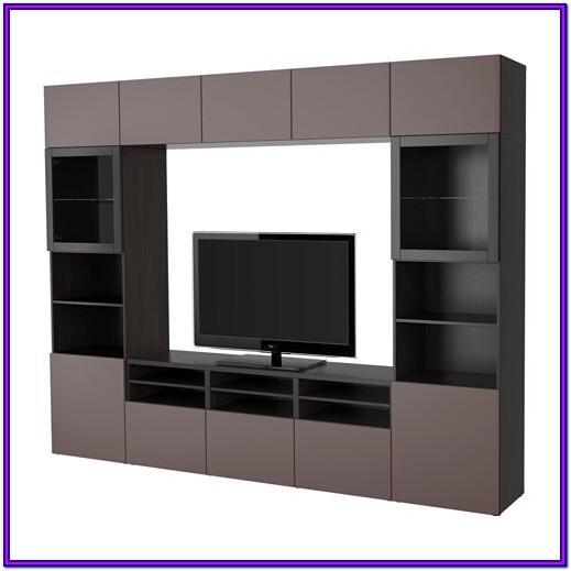 Ikea Besta Living Room Storage Combination