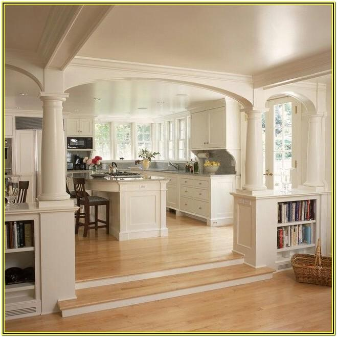 Kitchen And Living Room Divider Ideas