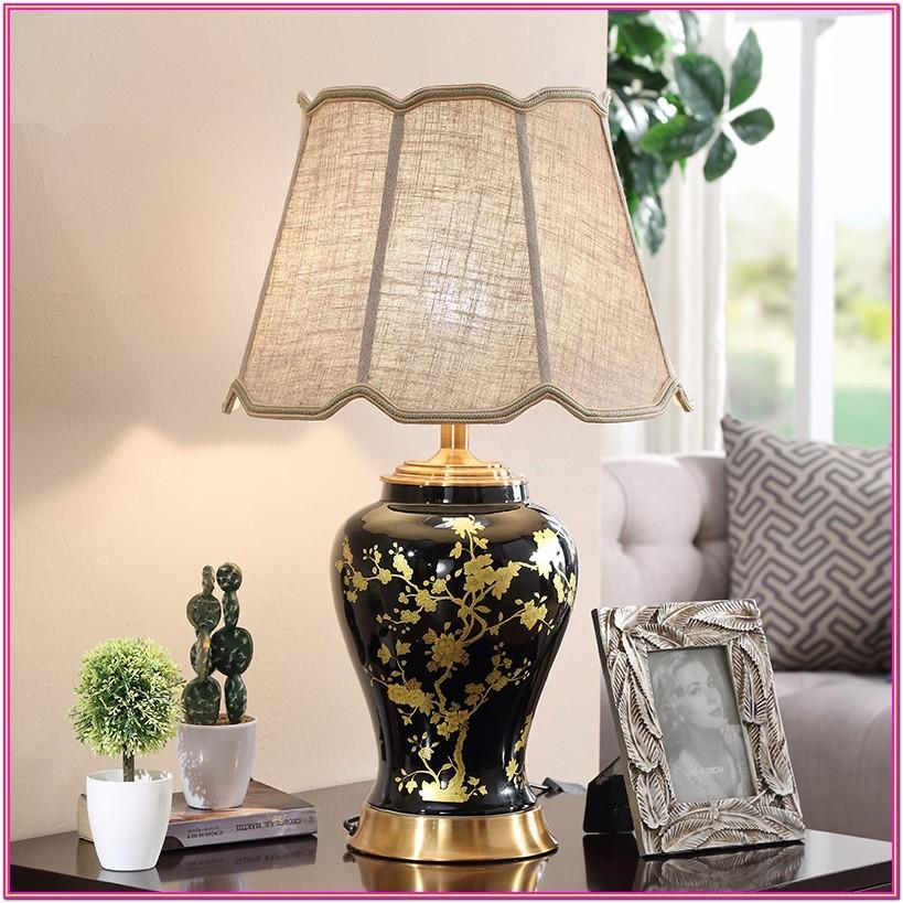 Large Ceramic Table Lamps For Living Room