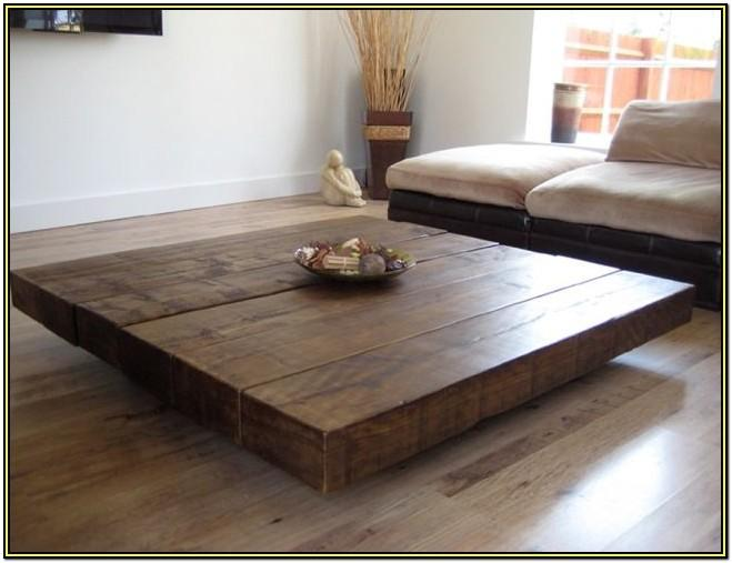 Large Square Living Room Coffee Table