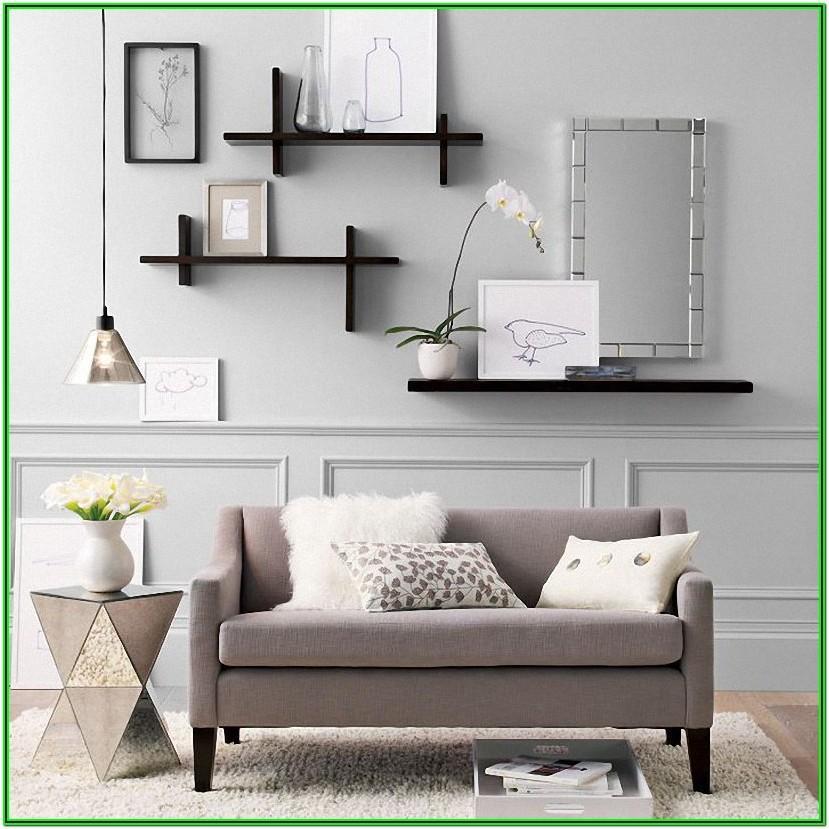 Large Wall Shelves For Living Room