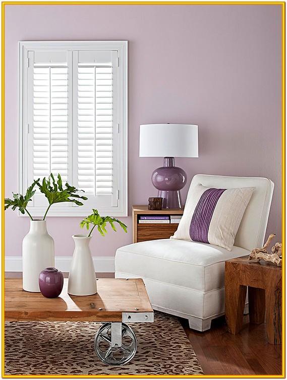 Lavender Light Purple Living Room
