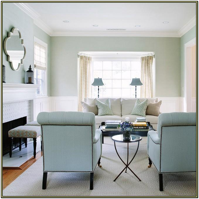 Light Blue Wall Living Room Ideas