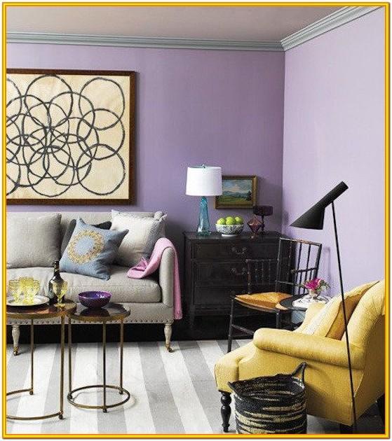 Light Purple Living Room Walls