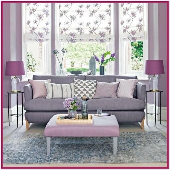 Lilac Living Room Accessories