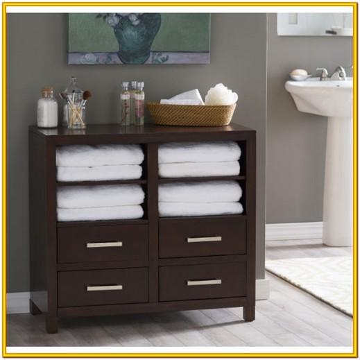 Linen Cabinet Living Room