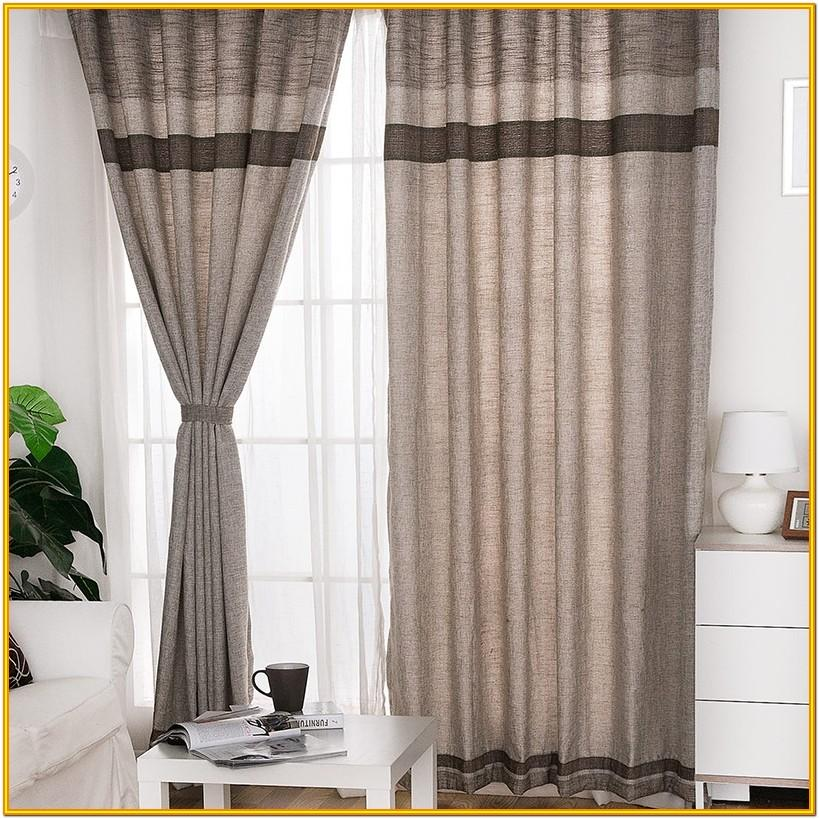Linen Living Room Curtains