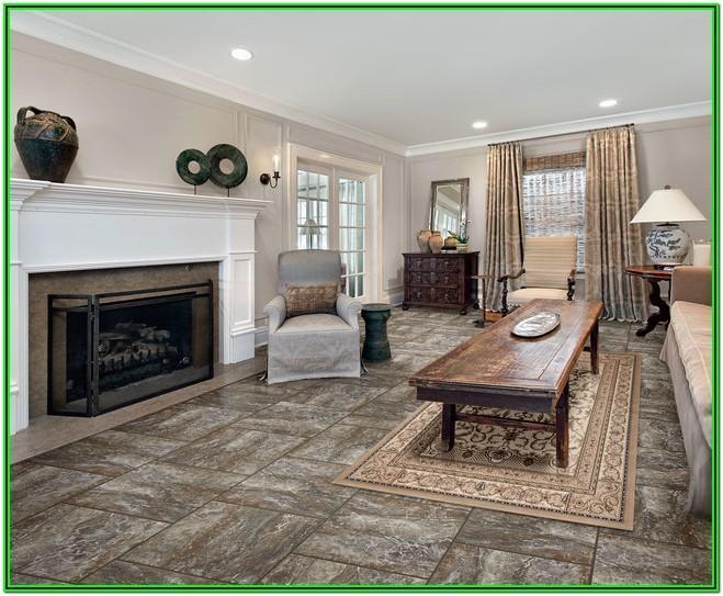 Linoleum Flooring In Living Room