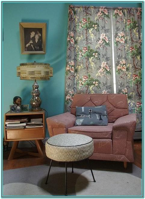 Living Room 1950 Furniture Styles