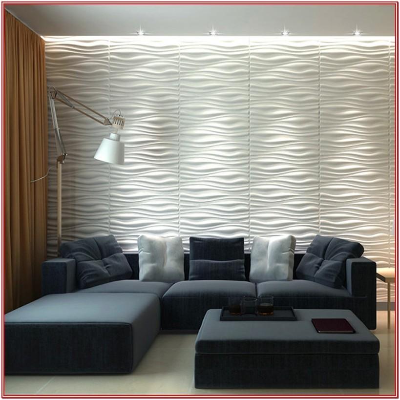 Living Room 3d Wall Design