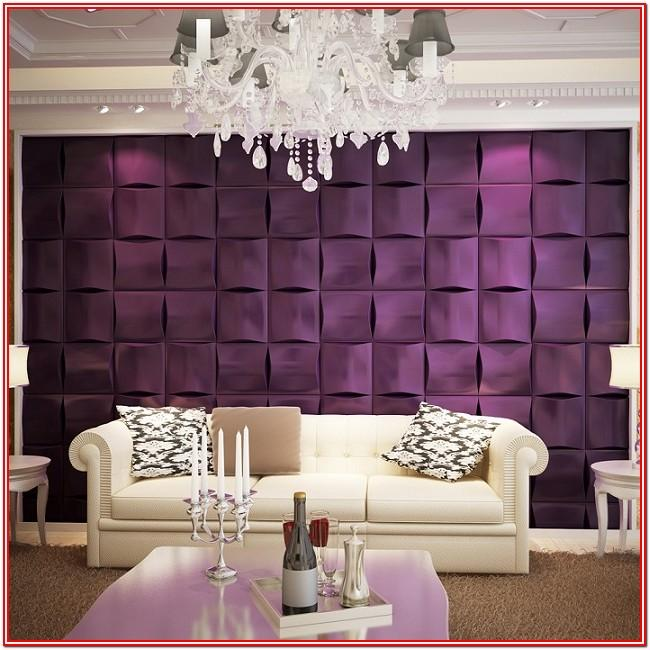 Living Room 3d Wall Tiles Design