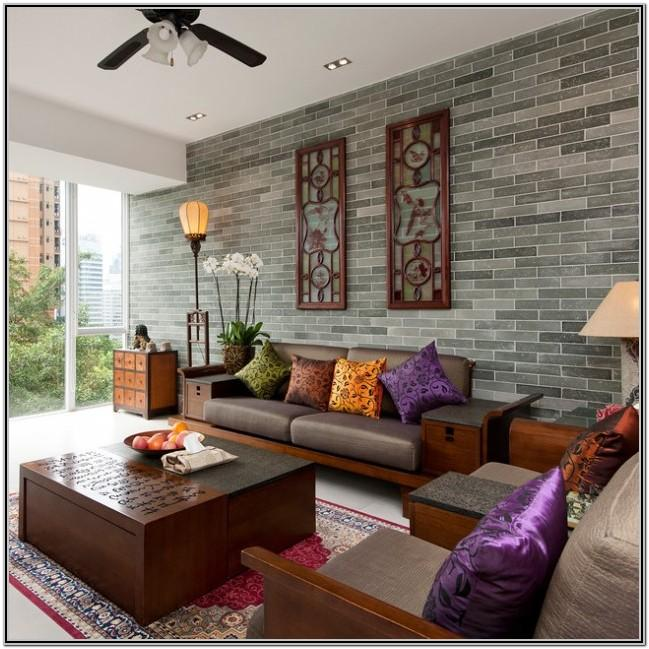 Living Room Asian Decor Ideas