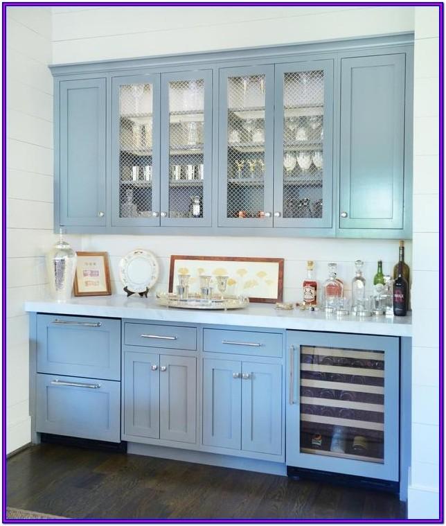 Living Room Bar Cabinet With Fridge