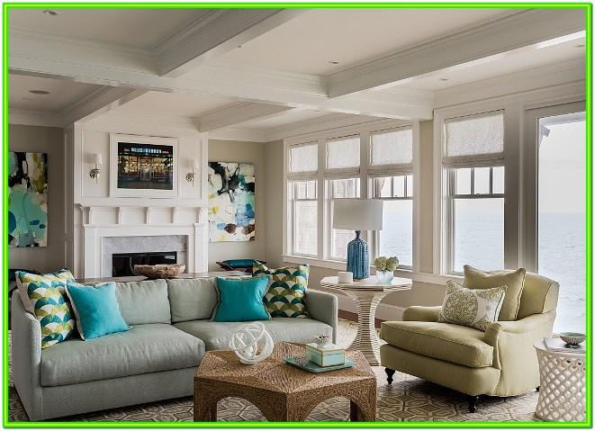 Living Room Beach House Interior Paint Colors