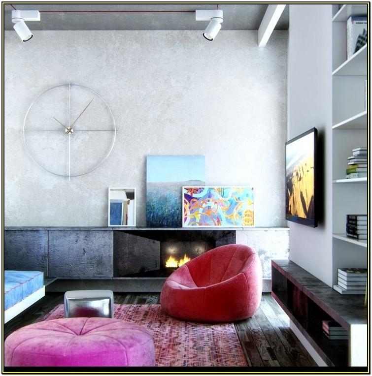 Living Room Bean Bag Decorating Ideas