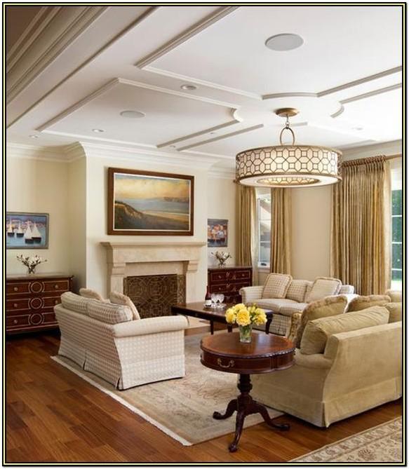 Living Room Beautiful Ceiling Designs