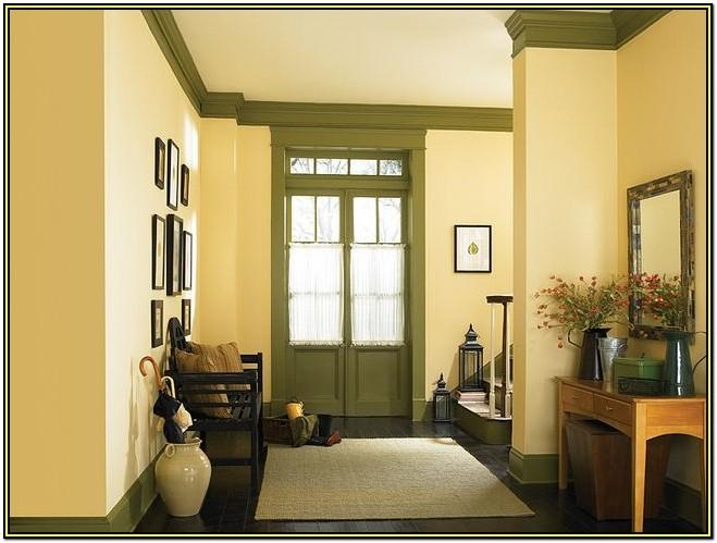 Living Room Behr Yellow Paint Colors