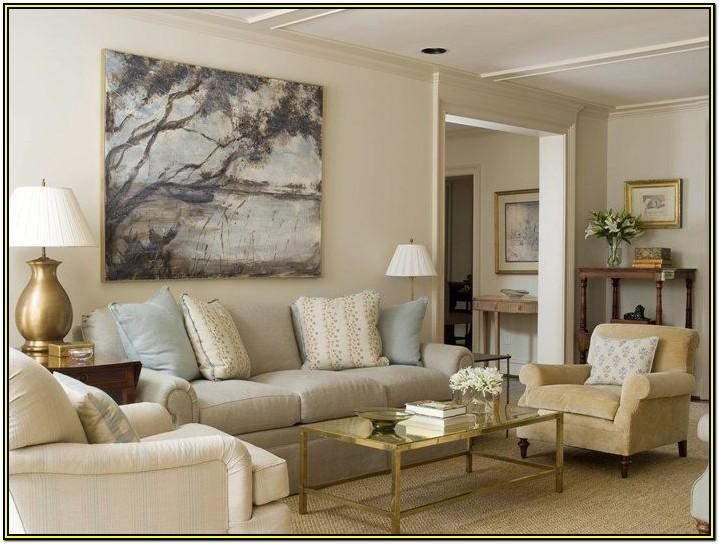 Living Room Beige Carpet Grey Walls