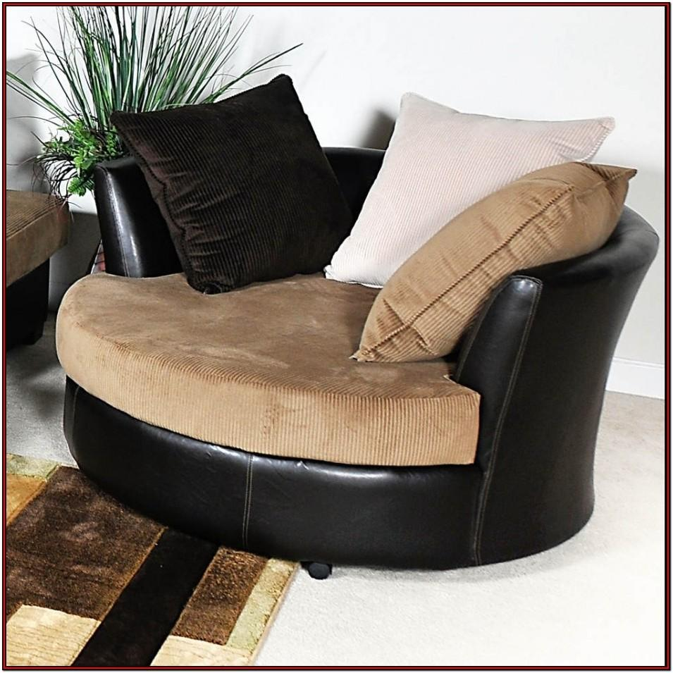 Living Room Big Round Chair