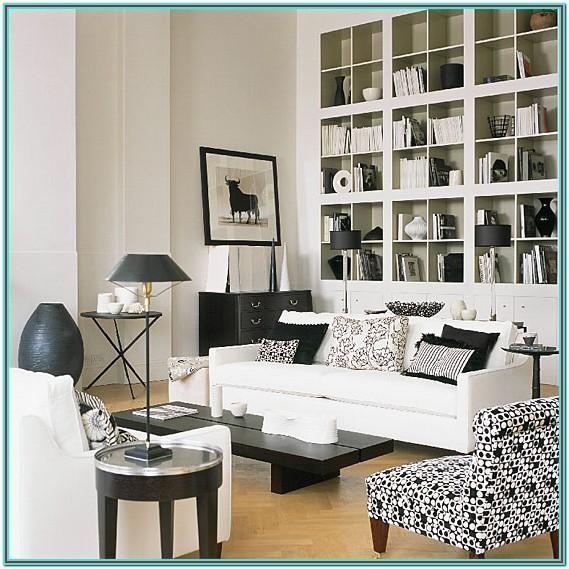 Living Room Black And White Pillows