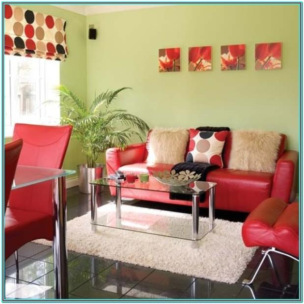 Living Room Color Scheme For Red Couch