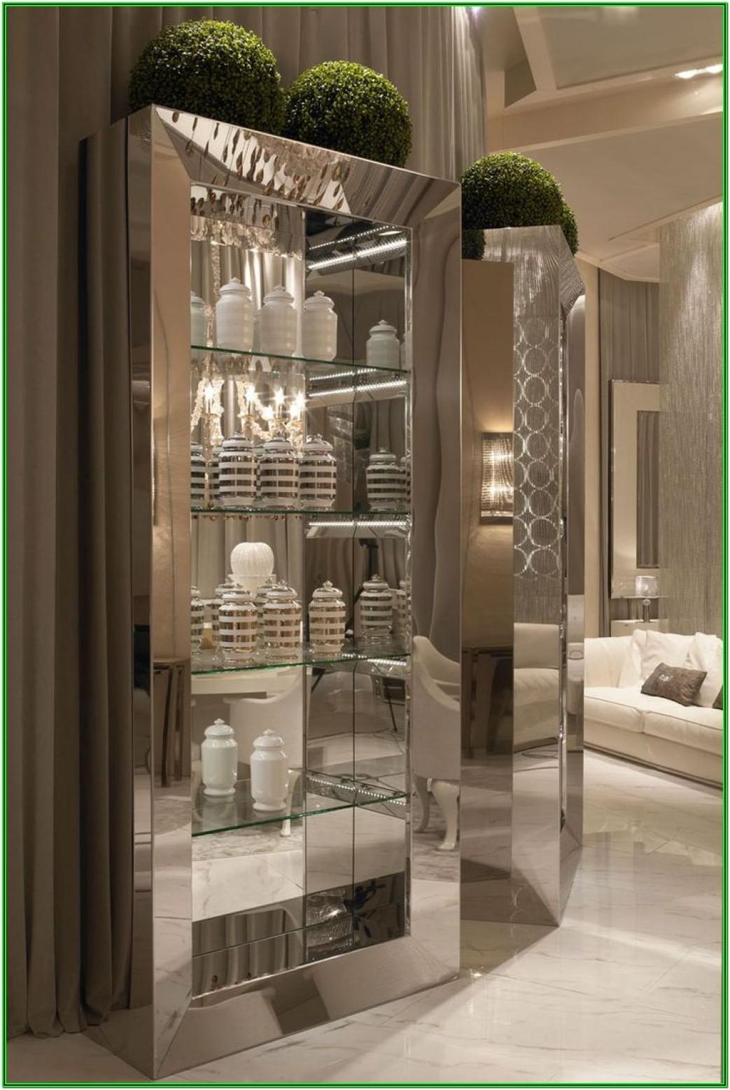 Living Room Curio Cabinet Decor