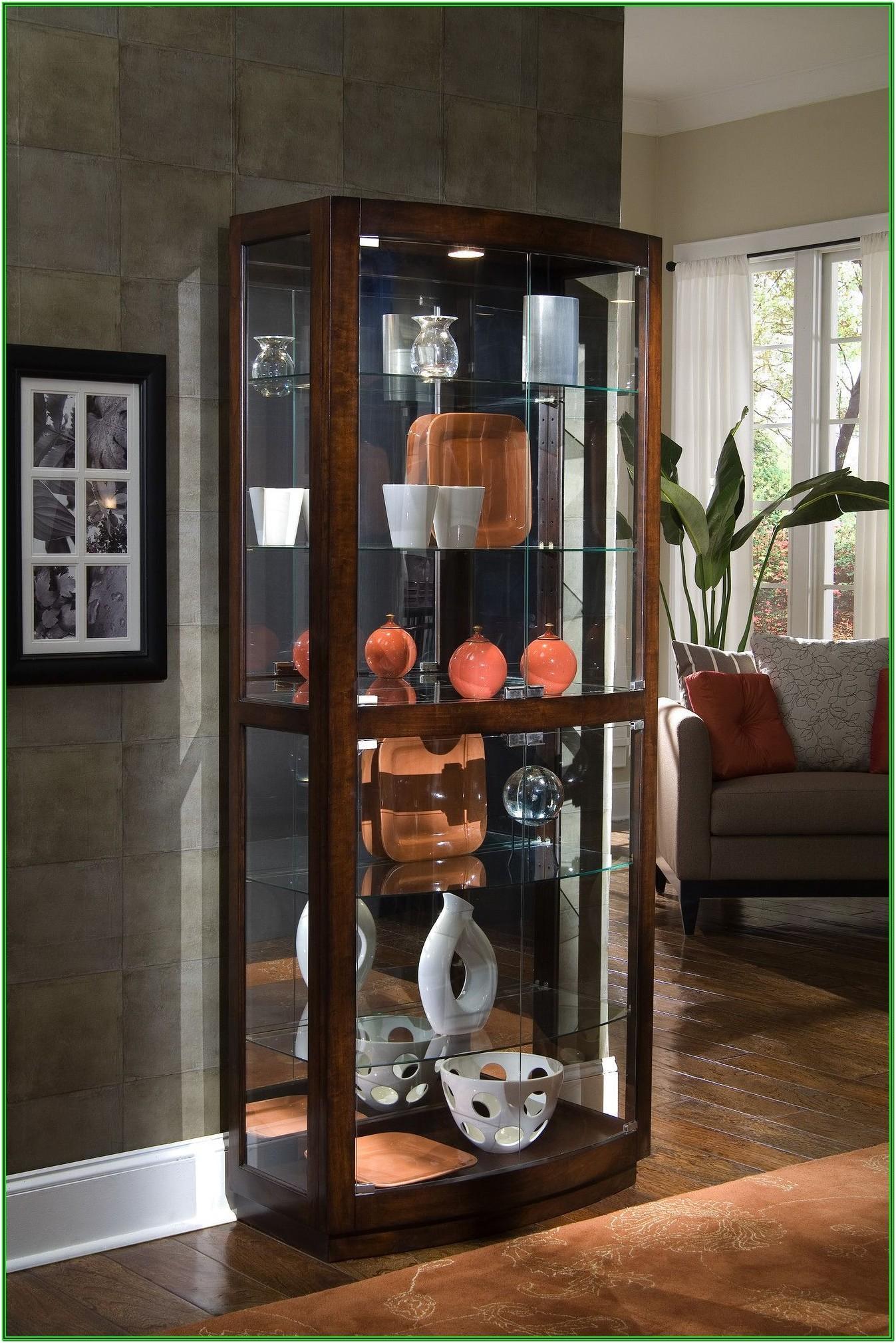 Living Room Curio Cabinet Ideas
