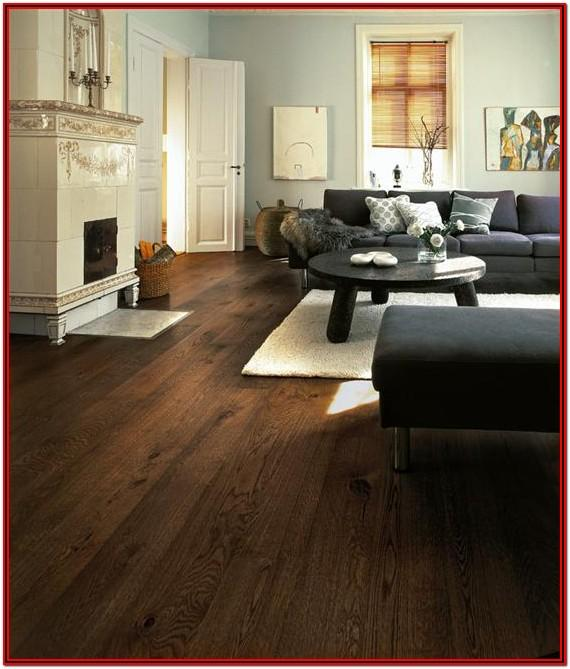 Living Room Decor Dark Wood Floor