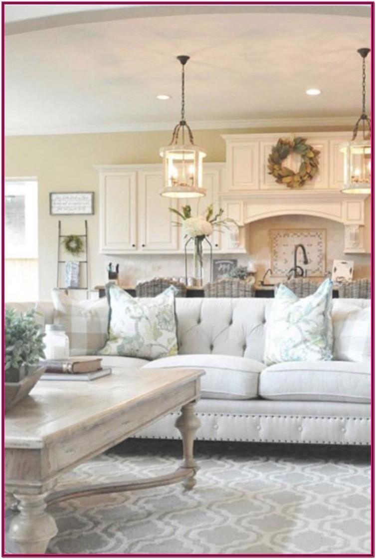 Living Room Decor Farmhouse Style