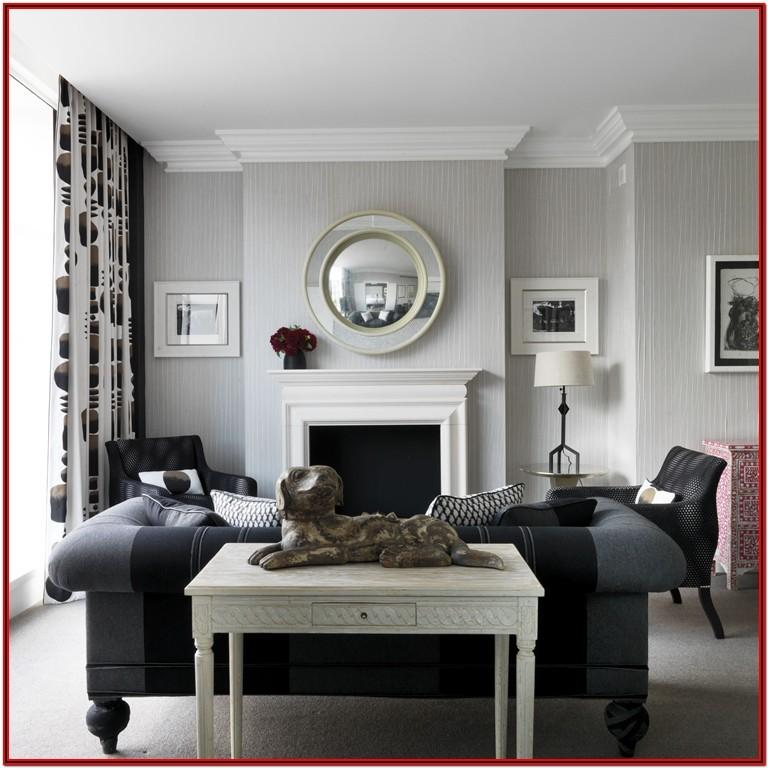 Living Room Decorating Ideas With White Walls