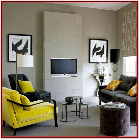 Living Room Decorating Ideas Yellow Walls
