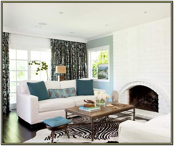 Living Room Design Ideas Blue Walls