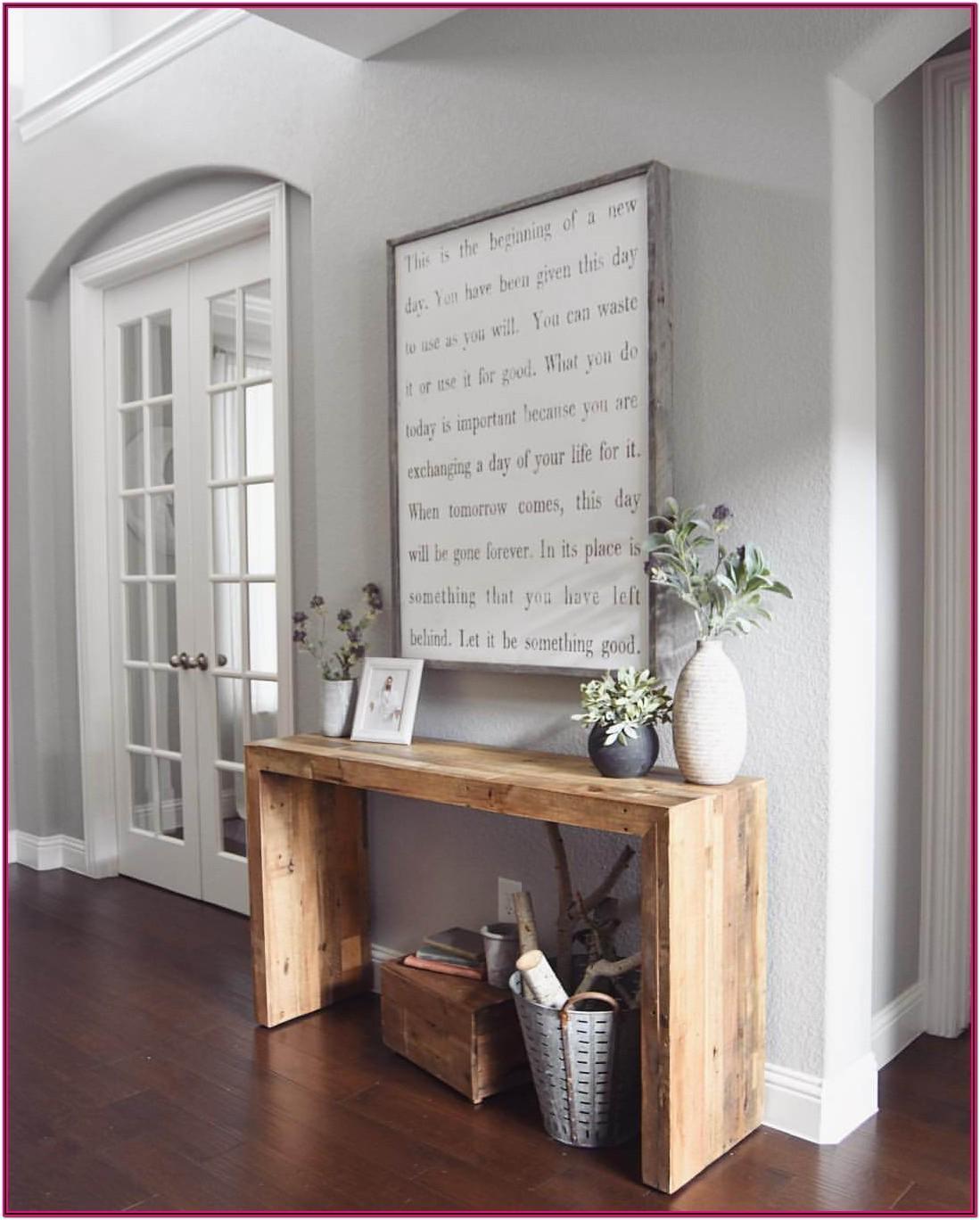 Living Room Diy Farmhouse Decor