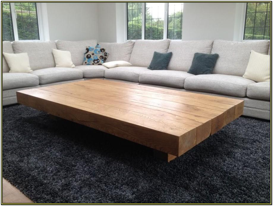 Living Room Extra Large Coffee Table