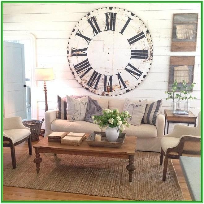 Living Room Farmhouse Curtains Joanna Gaines
