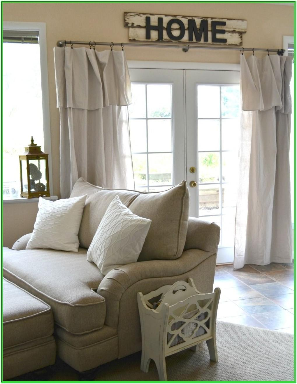 Living Room Farmhouse Curtains