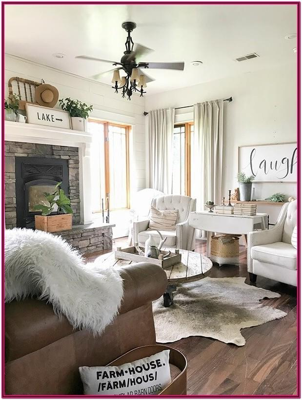 Living Room Farmhouse Decor Images