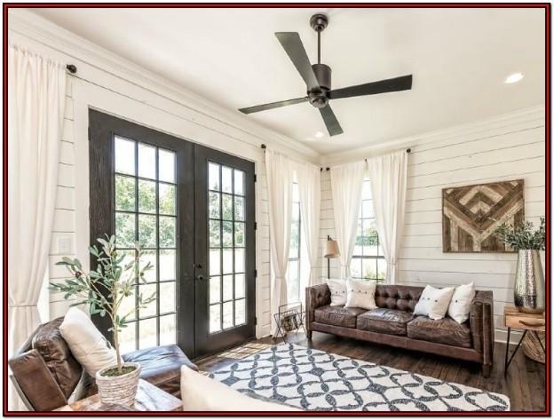 Living Room Farmhouse Modern Ceiling Fan