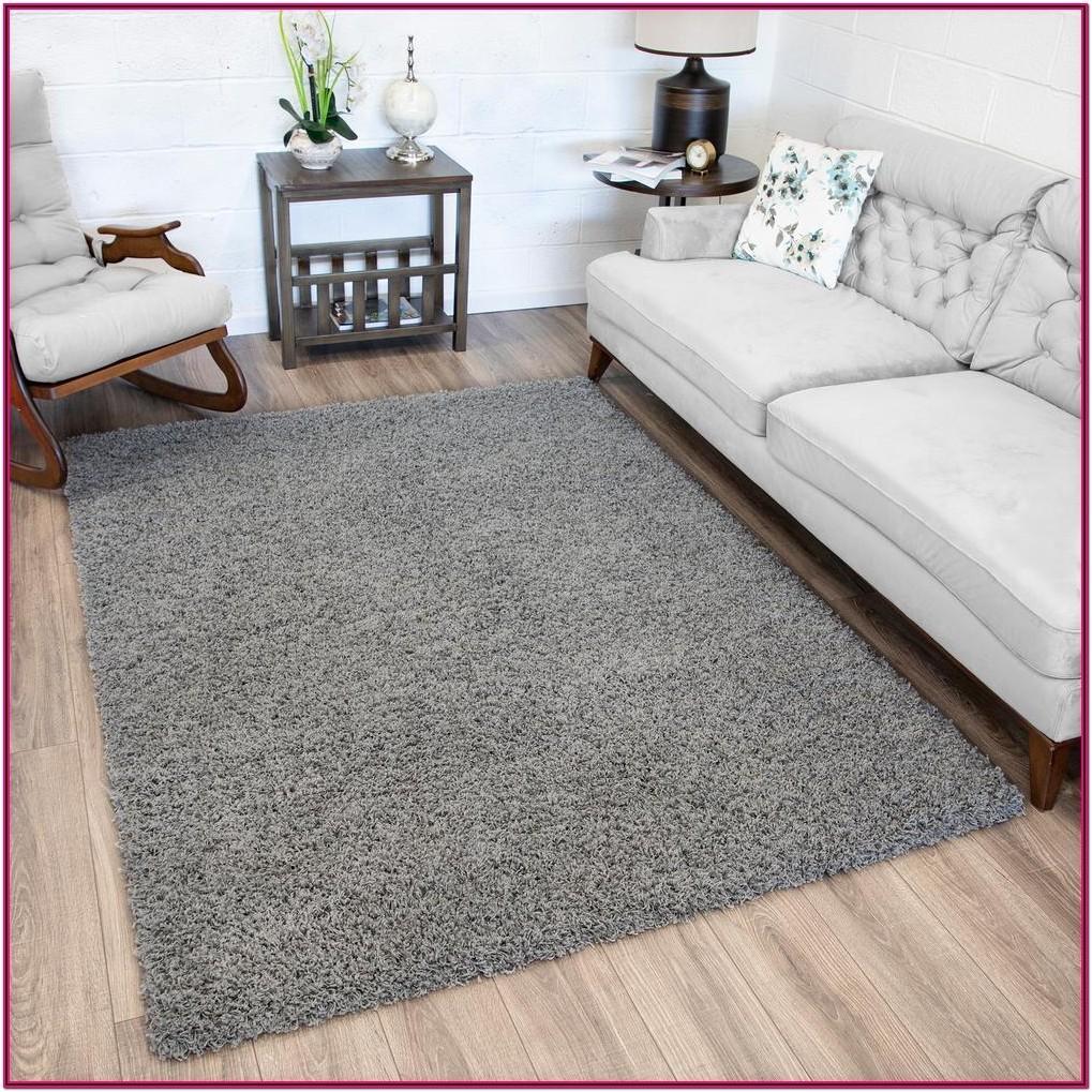 Living Room Gray Area Rug
