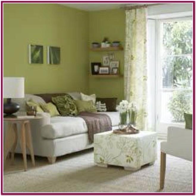 Living Room Green Wall Paint Ideas