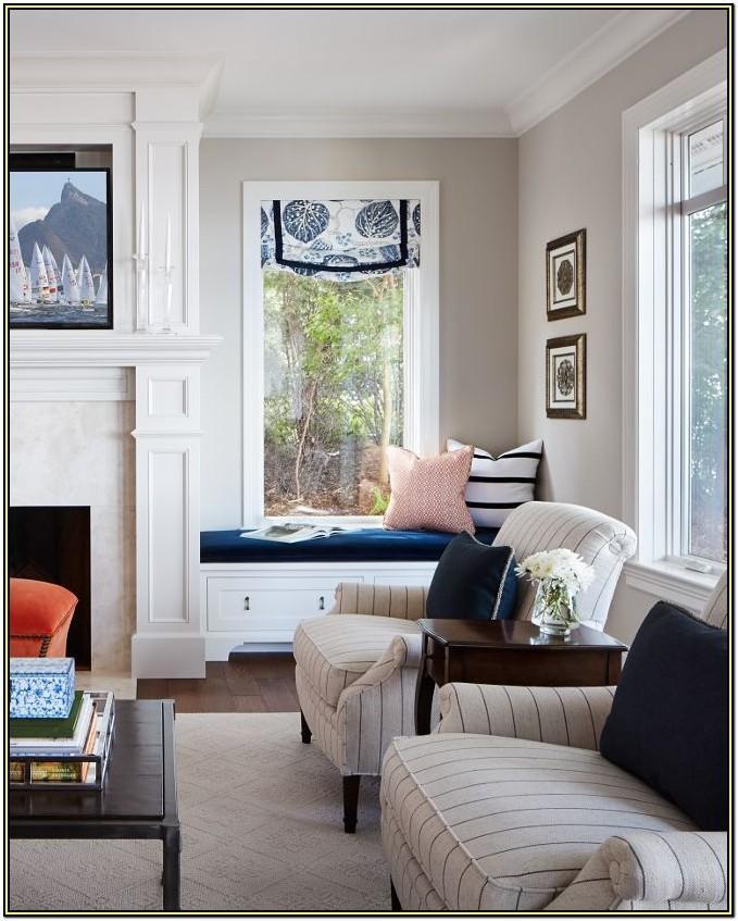 Living Room Grey Beige Paint