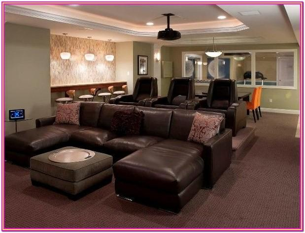 Living Room Home Theater Seating Ideas