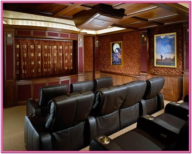 Living Room Home Theater Setup Ideas